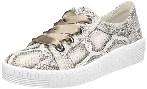 Gabor Shoes Damen Jollys Sneaker, Beige (Leinen 30), 38 EU