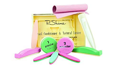 Japanische Maniküre, Nagelkonditionierer, XL P.Shine Maniküre-Set Zubehör Japanesse Manicure Kit, Nail conditioner