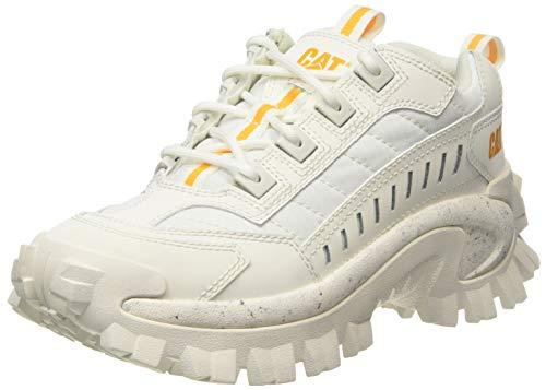 Cat Footwear Intruder, Zapatillas Unisex Adulto, Blanco Blanco Estrellas, 41 EU