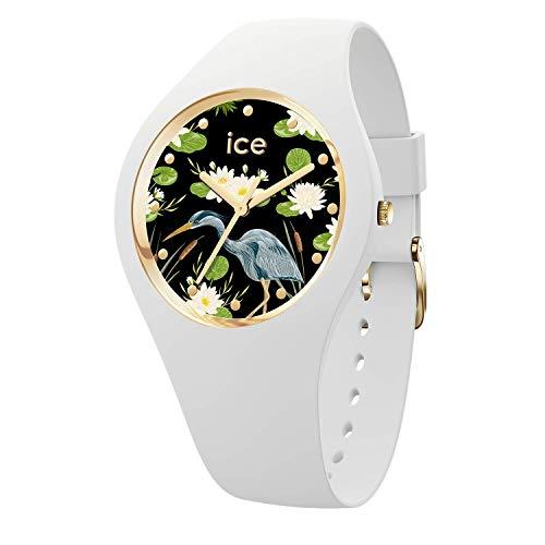 Ice-Watch - ICE flower Waterlily - Women's wristwatch with silicon strap - 016666 (Medium)