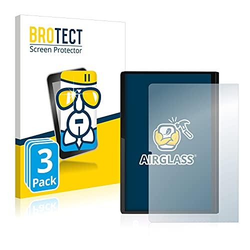 BROTECT Protector Pantalla Cristal Compatible con Lenovo Yoga Tab 11 (Retrato) Protector Pantalla Vidrio (3 Unidades) - Dureza Extrema, Anti-Huellas