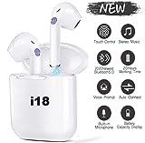 Ecouteurs Bluetooth Ecouteurs sans Fil Oreillette Bluetooth Ecouteurs Bluetooth 5.0 Couplage Automatique Ecouteurs à réduction de Bruit dans l'oreille avec étui de Chargeur Appels Mains Libres