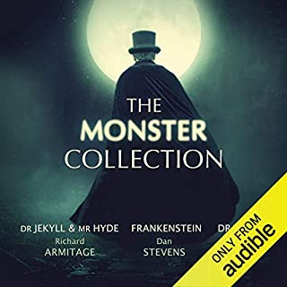 The Monster Collection                   Auteur(s):                                                                                                                                 Mary Shelley,                                                                                        Bram Stoker,                                                                                        Robert Louis Stevenson,                   Autres                          Narrateur(s):                                                                                                                                 Richard Armitage,                                                                                        Dan Stevens,                                                                                        Greg Wise,                   Autres                 Durée: 30 h et 25 min     78 évaluations     Au global 4,6