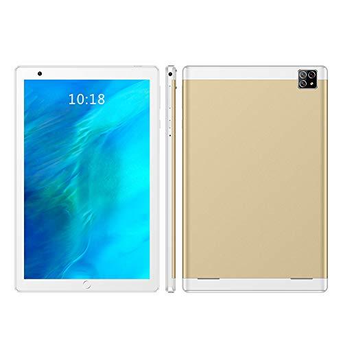 CYY Tableta de 8 Pulgadas,Android 5.1 Tablet PC con 16GB ROM/Escalable 64GB,Dual SIM,Cámara 0.3MP + 2MP,WiFi Bluetooth GPS,Octa-Core,Pantalla Táctil IPS HD