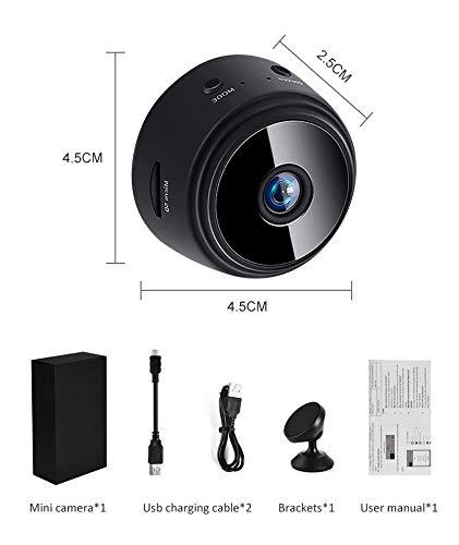 RHG Cámara IP inalámbrica de seguridad para interiores, 1080P HD Mini IP WIFI, cámara de vídeo inalámbrica, seguridad en el hogar, DVR visión nocturna