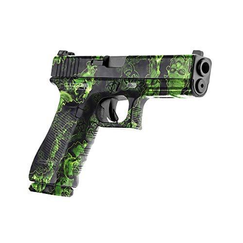 GunSkins Pistol Skin  Premium Vinyl Gun Wrap with Precut Pieces  Easy to Install and Fits Any Handgun  100% Waterproof NonReflective Matte Finish  Made in USA  Proveil Reaper Z