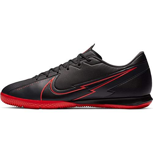 Nike Vapor 13 Academy IC, Football Shoe Unisex-Adult, Black/Black-Dark Smoke Grey, 40.5 EU