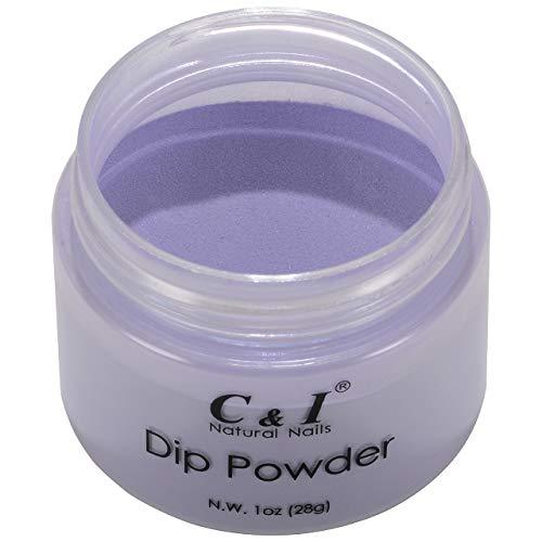Dip Powder, Color No.60 Bluish Violet, Blue Color System, Nail Gel Effect, 28,3 g