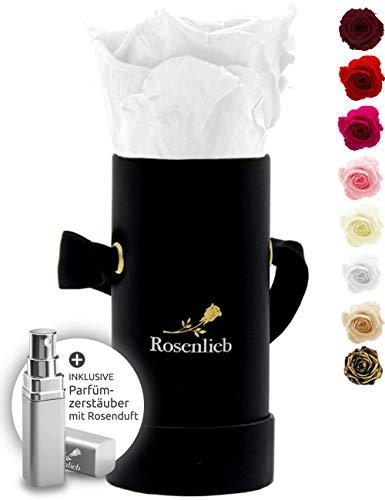 Rosenlieb Rosenbox mit Infinity Rosen (3 Jahre haltbar) | Echte konservierte Rose...