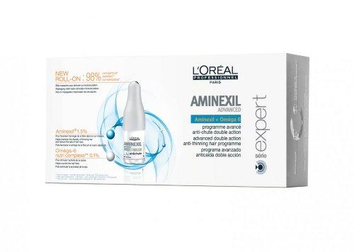Loreal Aminexil Advanced 1 x (42x6ml) Serie Expert + Omega 6 gegen Haarausfall