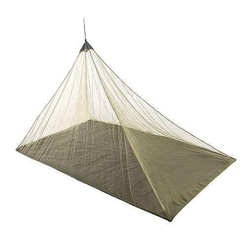 Delisouls Mosquitera de camping, ligera, compacta, malla de insectos para viajes al aire libre, protección mosquitera, para acampar y viajar