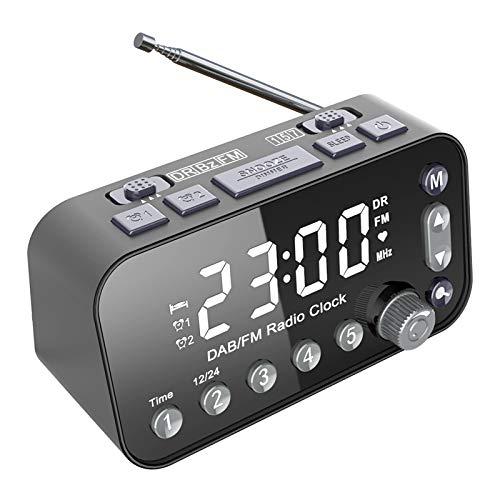 DAB/DAB+ Digital & FM Radio, Portable Radio with Simple Presets, Mains and...