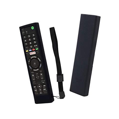 YEYU BH RMF-TX300U RMT-TX200U RMT-TX102U RMF-TX200U La caja de control remoto con funda de silicona a prueba de golpes se puede lavar con mando a distancia rojo (color: negro solo caja)
