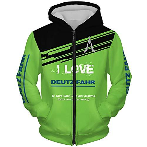 CONVERMPU Kapuzenpullover Jacke Herren & Damen For D.Eu-Tz 3D Voll Drucken Strickjacke Dünn Beiläufig Polyester Sweatshirt Sport/B/S