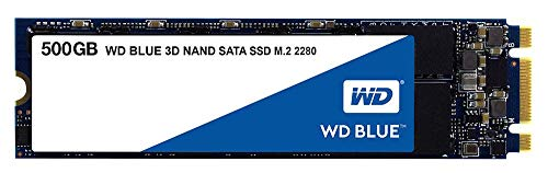 SSD Blue M2 3D Nand SATA 500GB for WD Solid State SSD Drives