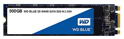 SSD Blau M.2 3D Nand SATA, 500 GB, für WD SSD Festplatten