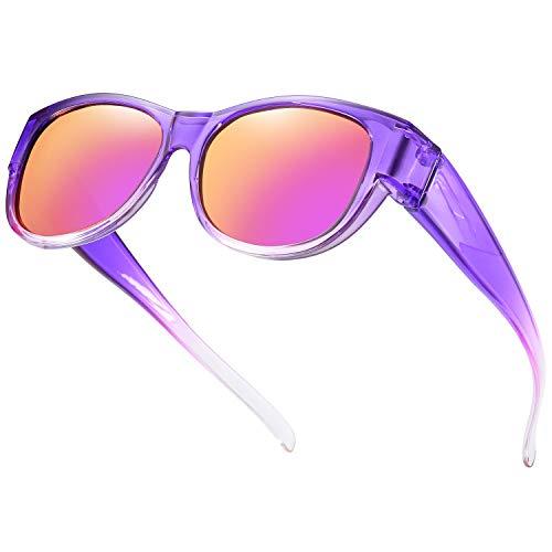 SHEEN KELLY De gran tamaño se adapta a las gafas de sol...