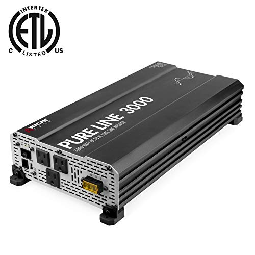 top rated Wagan EL3810 Pure Line Inverter 3000W Peak Power 6000W 12V ~ 110V AC Vehicle Power Supply 2020