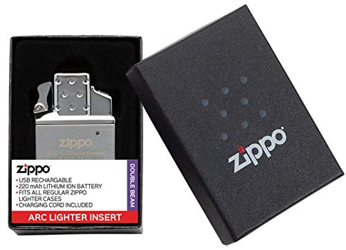 Zippo Rechargable Lighter Insert, Metall, Silber, One Size