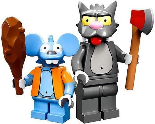 Lego Simpsons - Minifigur Itchy und Scratchy