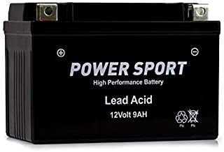 ExpertPower ETX9-BS 12v9ah YTX9-BS Honda TRX400EX FourTrax Sportrax 400CC 1999-2009 EBC CTX9BS 105CCA 12v 9ah Replacement ATV Motorcycle Battery