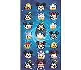 DISNEY CLASSICS Disney Emoji - Toalla de Playa con diseño de Personajes