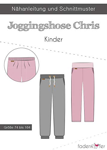 Schnittmuster und Nähanleitung - Kinder Joggingshose - Chris