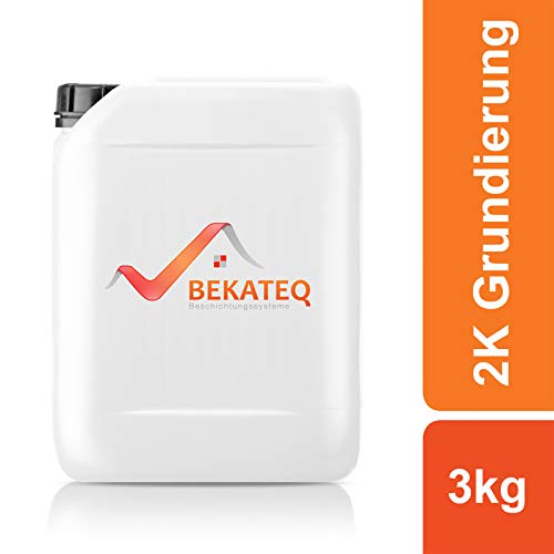 BEKATEQ 2K Primer BK-190EP voor 2K epoxyhars vloerverf 3KG kleurloos