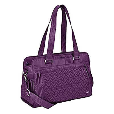 Lug Caboose Carry All Bag, Plum Purple, One Size