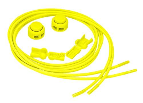 mumbi elastische Schnürsenkel gelb, Größe
