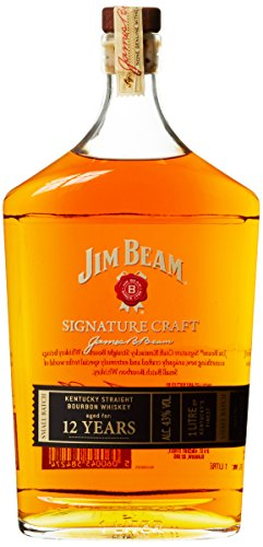 Jim Beam Signature Craft 12 Jahre Bourbon Whiskey (1 x 1 l)
