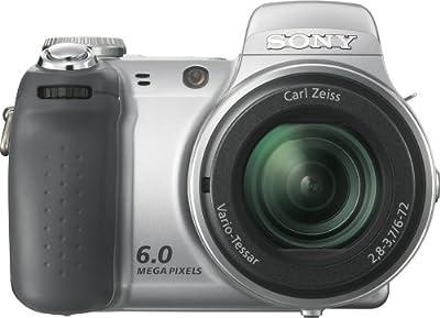 Sony Cybershot DSC H2 6MP Digital Camera with 12x Optical Image Stabilization Zoom