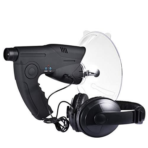 Spray Telescopio auditivo, micrófono parabólico, oreja biónica, monocular X8 veces de larga distancia, telescopio de escucha de pájaros, caminata por arbustos, caza, pesca, herramientas de camping
