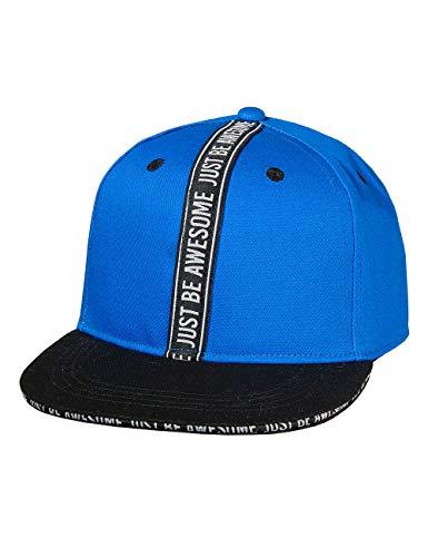 maximo Jungen Cap Kappe, Blau (Bluette/Schwarz 5446), (Herstellergröße: 55/57)