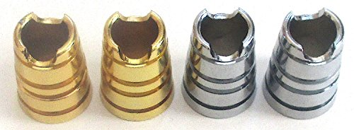 Lot of 4 Metal Series Cigarette Snuffers Instant Cigarette Extinguisher