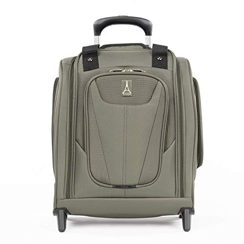 Travelpro Maxlite 5 Carry-on Compact Rolling Under Seat Bag, Slate Green