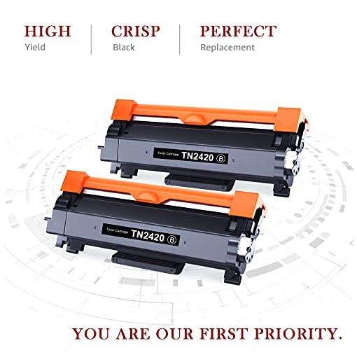 Toner Kingdom TN2420 Cartucho Toner Compatible para Brother TN2420 TN2410 para Brother MFC-L2710DW HL-L2350DW DCP… 2