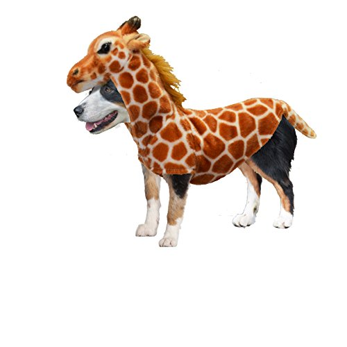 Amazing Pet Products Doggy Wannabe Comfy Creature Coats Costume Giraffe Medium