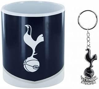 Tottenham Hotspur (Spurs) Mug & Keyring Set