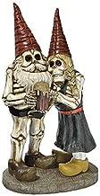 Zombie Gnome - Bones and Brew Skeleton Graveyard Gnomes - Garden Gnome Statue (Renewed)