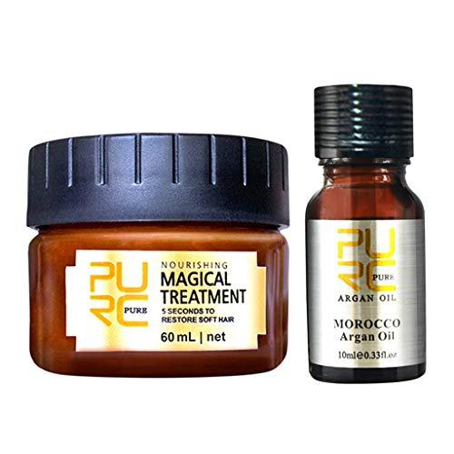 LSAltd Haarentgiftende Haarmaske Advanced Molecular Hair Roots Treatment & Hair Essentia