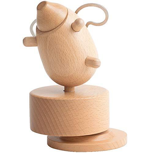 RongDuosi Varken muziekdoos muziekdoos houten meisje creatieve sturen meisje verjaardag geschenk vliegen varken muziekdoos Home Decoraties huisdecoratie voor woonkamer
