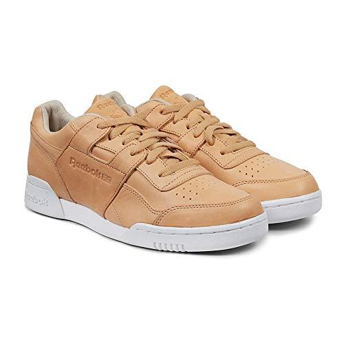 Reebok Workout Plus EWT-HVT - Sabbia/Bianco, Beige (Beige), 6 UK