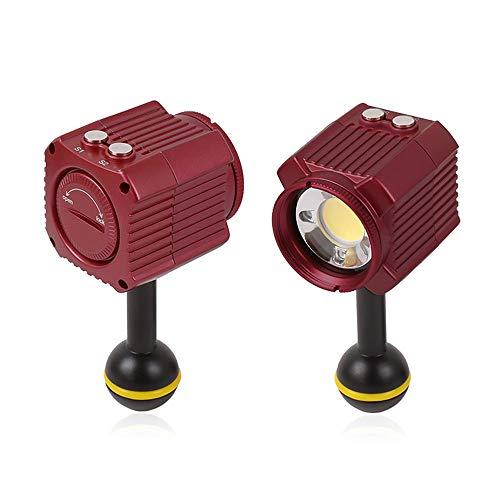 Zwbfu Mini Recargable LED Video Light Diving Fotografía Lámpara Submarino 60M Impermeable IPX8 Iluminación de Camping para Drone / / Cámaras/Videocámaras/Action Cameras/Smartphone