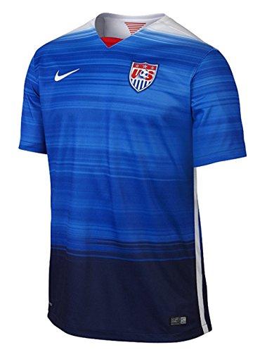 Nike USA Stadium Away Jersey (GAME ROYAL/LOYAL BLUE/FOOTBALL WHITE/FOOTBALL WHITE) (S)