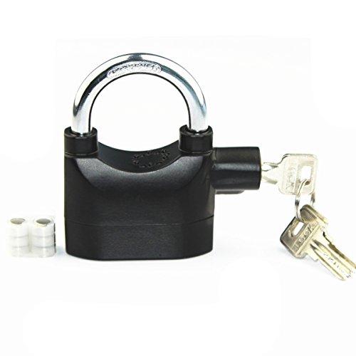 Système de Verrouillage d'alarme de sécurité universelAnti-Theft for Door Motor Cadenas de vélo 110dB avec 3 clés