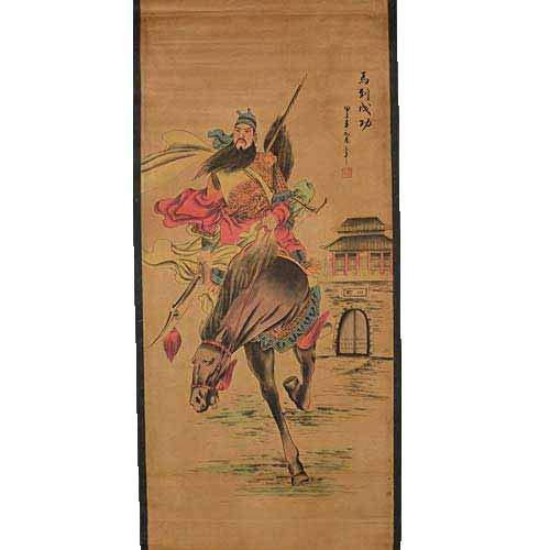 Fashion158 Schilderij collectie gemonteerd woonkamer kantoordecoratie opknoping paard tot succes Guanyu manege kaart