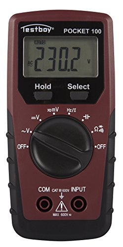 Testboy Testboy Pocket 100 Universal-Multimeter mit einem Großen LC-Display