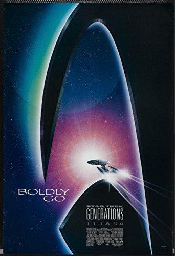 Star Trek Generations (1994) Original Movie Poster
