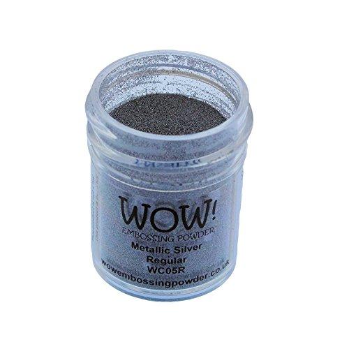 Wow Embossing Powder 15ml-Silver